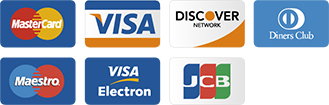 We accept the following payment providers